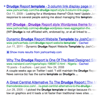 WordPress Curation and Aggregation Theme   WP-Drudge