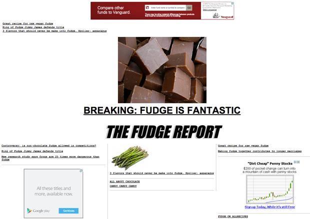Drudge Report Website built with WordPress - WP-Drudge