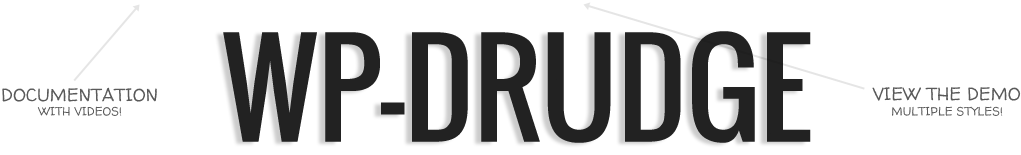 WP-Drudge Logo